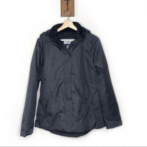 Champion charcoal fleece lining winter coat